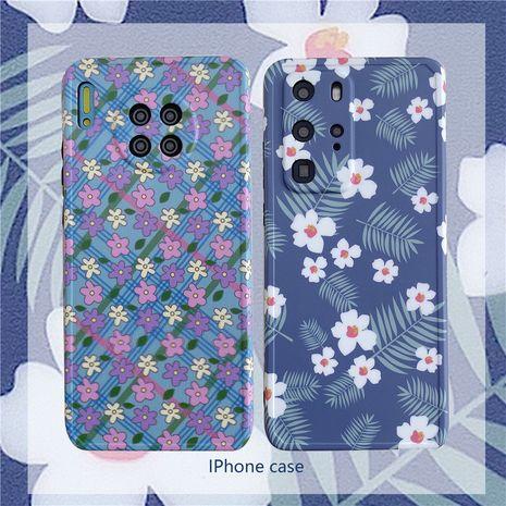 étui de téléphone portable petite fleur pour iPhone7 / 8plus / XR / 11ProXSMAX manchon de protection en gros nihaojewelry NHFI233350's discount tags