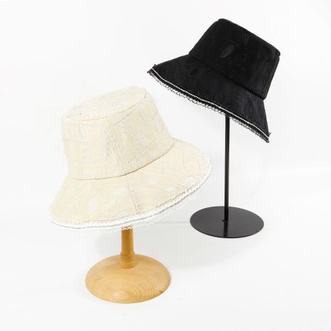 Lace hollow fisherman hat Korean lady summer sun hat wholesale nihaojewerly NHTQ233437's discount tags