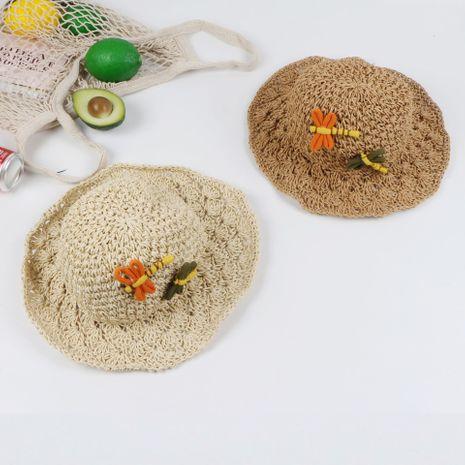 Summer big straw hat Korean hand hook straw sunshade ladies big eaves parent-child hat wholesale nihaojewerly NHTQ233445's discount tags
