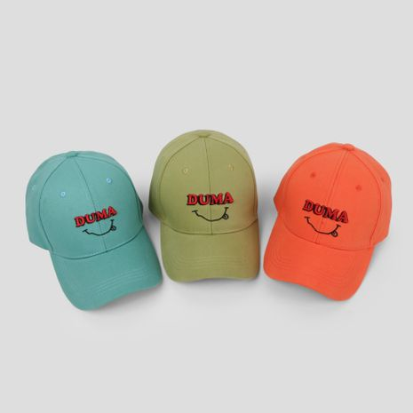Cap brand smiling embroidered baseball cap Korean autumn and winter new hat sun wholesale nihaojewerly NHTQ233448's discount tags