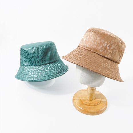 Hepburn style green fisherman hat Korean adjustable head circumference hat wholesale nihaojewerly NHTQ233456's discount tags