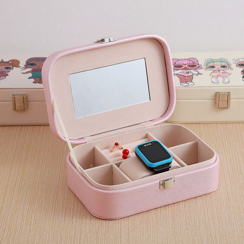 jewelry box jewelry storage box Korean watch necklace earring ring box simple packaging box wholesale nihaojewelry NHHO233519