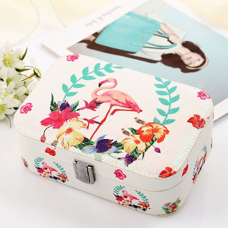 New Jewelry box velvet jewelry box ring jewelry earrings storage box wholesale nihaojewelry NHHO233521