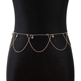 fashion new  fairy series wild personality temperament rhinestone waist chain nihaojewelry wholesale  NHPS233555's discount tags