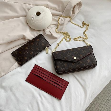 Bolso retro de tres piezas pequeño bolso de verano nuevo bolso de hombro al por mayor nihaojewelry NHGA233718's discount tags