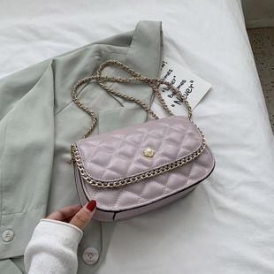 Bolso de hadas señoras nueva moda pequeña fragante rombo cadena bolso hombro mensajero bolso pequeño bolso al por mayor nihaojewelry NHJZ233867's discount tags