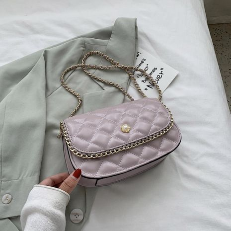 Fairy bag ladies new trendy small fragrant rhombus chain bag shoulder messenger bag small bag wholesale nihaojewelry NHJZ233867's discount tags