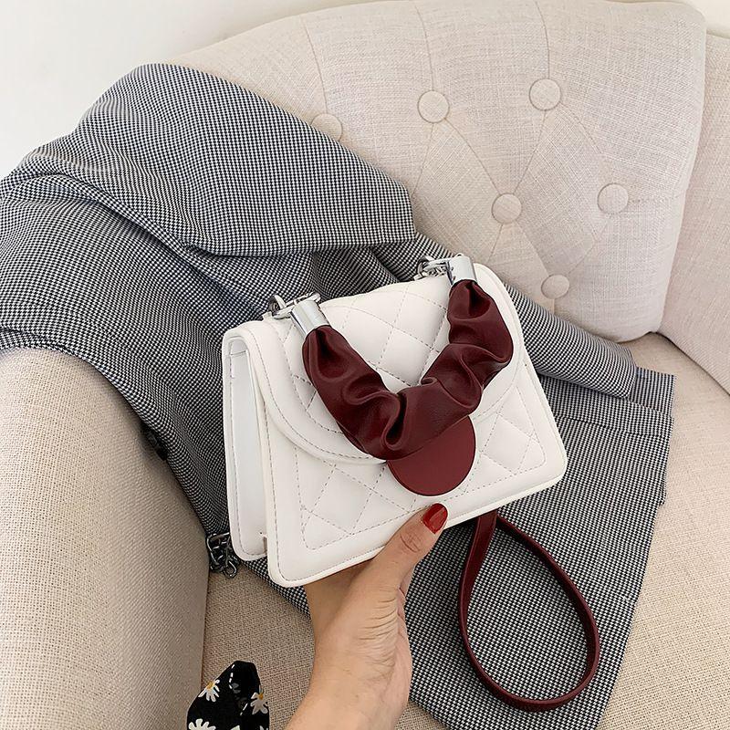 new small bag Korean casual womens bag  summer new fashion diagonal portable small square bag wholesale nihaojewelry NHJZ233869