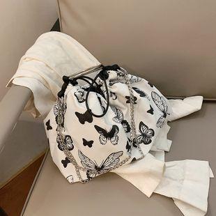 Corea Harajuku estilo mariposa cadena de impresión bolsa de mensajero bolsa de hombro venta al por mayor nihaojewelry NHJZ233870's discount tags