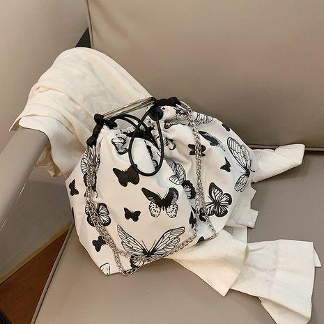 Corée Harajuku style papillon impression chaîne messenger sac sac à bandoulière en gros nihaojewelry NHJZ233870's discount tags