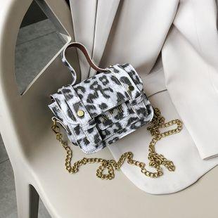 Mini bolso de verano nuevo bolso de hombro cruzado con estampado de serpiente bolso de Cambridge al por mayor nihaojewelry NHJZ233872's discount tags