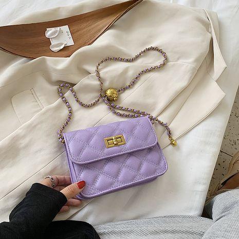 petit sac nouvelle vague mode messenger sac populaire chaîne de diamant épaule petit sac carré en gros nihaojewelry NHJZ233879's discount tags