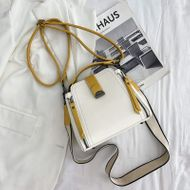 Portable bucket bag new wave spring and summer Korean fashion shoulder messenger bag soft leather small bag wholesale nihaojewelry NHJZ233880