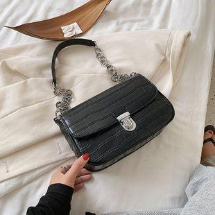 Bolso pequeño nuevo patrón de cocodrilo coreano mini cadena de hombro bolsa de mensajero al por mayor nihaojewelry NHJZ233881's discount tags