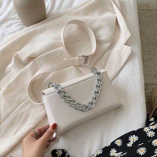 Bolso popular francés new wave moda textura hombro bolsa cadena axila bolsa venta al por mayor nihaojewelry NHJZ233883's discount tags