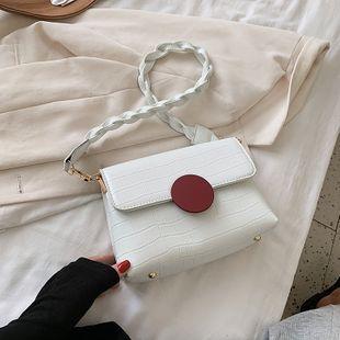 Moda popular nueva ola moda axila de un hombro bolso de las señoras bolso cuadrado pequeño al por mayor nihaojewelry NHJZ233884's discount tags