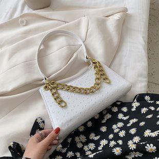 Textura francesa bolsa popular verano nueva ola un hombro axila bolsa portátil cadena bolsa venta al por mayor nihaojewelry NHJZ233885's discount tags