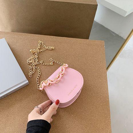 nouveau printemps et en été coréen sauvage perle messenger sac Western épaule chaîne sac de selle en gros nihaojewelry NHJZ233892's discount tags