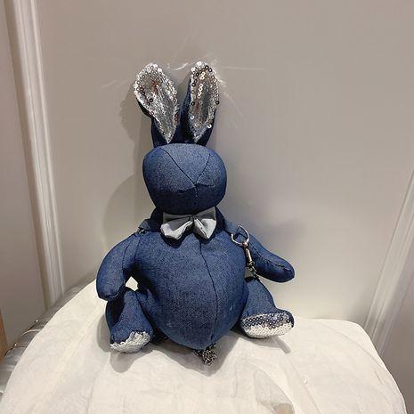 creative bunny bag new wave cute cartoon chain bag wild shoulder messenger bag wholesale nihaojewelry NHJZ233893's discount tags