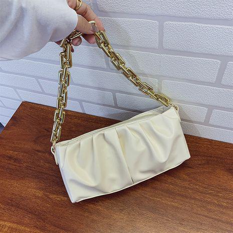 Été petit sac nouvelle mode vague plier chaîne sac à bandoulière aisselle sac en gros nihaojewelry NHXC233897's discount tags