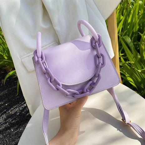 été nouveau sac à la mode couleur unie fille sac à bandoulière mode Messenger sac en gros nihaojewelry NHXC233899's discount tags