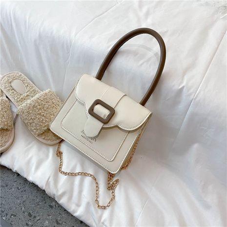 été simple texture couleur unie style tendance sac à bandoulière en gros nihaojewelry NHXC233900's discount tags
