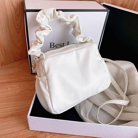 Aisselle sac à aisselles populaire nouvelle mode d'été pli chaîne oblique nuage de fées blanc en gros nihaojewelry NHXC233905's discount tags