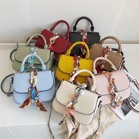 Sac nouveau foulard à main petit sac carré chaîne de mode coréenne sac à bandoulière en gros nihaojewelry NHXC233907's discount tags