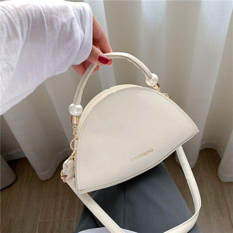 Sur le nouvel été petit sac nouveau simple semi-circulaire sac à main messenger sac à bandoulière en gros nihaojewelry NHXC233921's discount tags