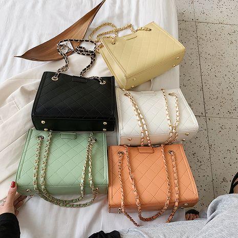 Grande capacité sac nouvelle vague mode chaîne bandoulière sac dames linge broderie fil sac à bandoulière en gros nihaojewelry NHXC233933's discount tags