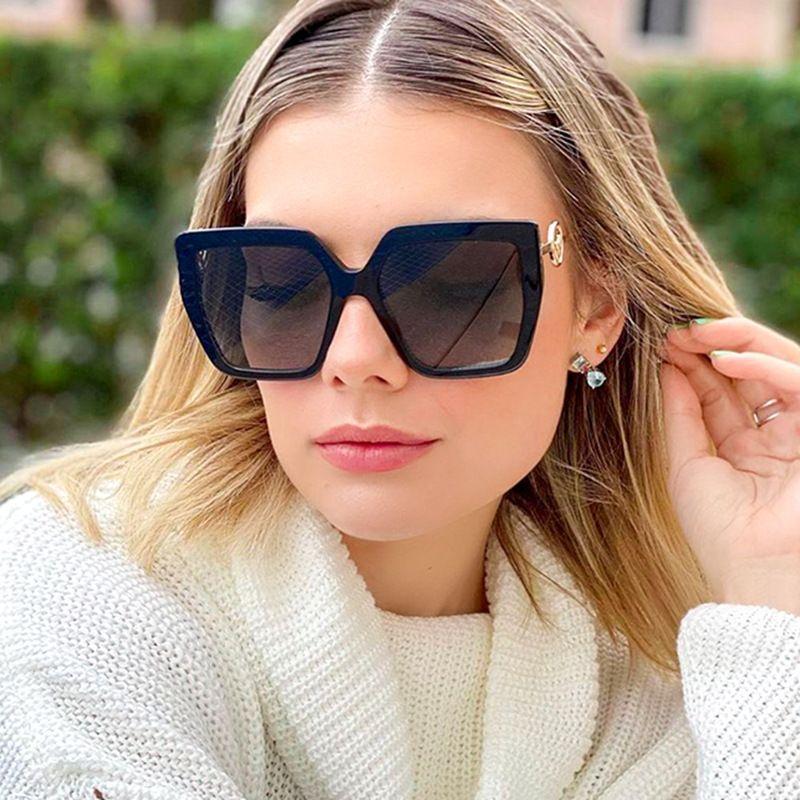 fashion trend new big frame sunglasses box sunglasses outdoor travel glasses wholesale nihaojewelry NHFY233580