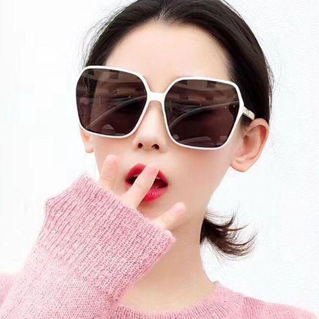 Gafas de sol irregulares nueva moda gafas de sol coreanas cara lisa anti-ultravioleta al por mayor nihaojewelry NHKD233601's discount tags