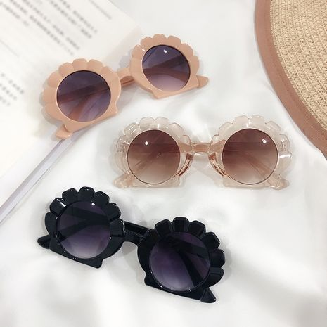 Gafas de sol para niños Shell nuevas gafas de sol irregulares gafas de sol lindas de dibujos animados anti-UV al por mayor nihaojewelry NHKD233608's discount tags