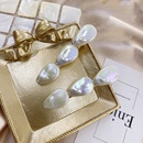 Korean girl hair accessories shell pearl hairpin alloy hairpin womens head side clip wholesale nihaojewelry NHSM233619