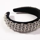 diamond headband luxury fashion hair accessories hair ring magnesium pedicle jewelry wholesale nihaojewelry NHMD234090