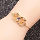 Trendy new products jewelry microset zircon adjustable ladies bracelet wholesale nihaojewelry NHYL234169