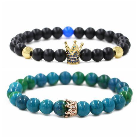 Hot Selling Jewelry Phoenix Stone Matte Stone Couple Bracelet Beaded DIY Bracelet wholesale nihaojewelry NHYL234221's discount tags