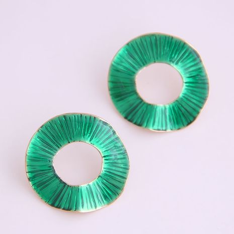 Exquisite Korean fashion simple circle exaggerated earrings wholesale nihaojewelry NHSC234293's discount tags
