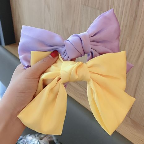 super fairy bow hairpin back hairpin bangs clip headdress Korea Hair Accessories wholesale nihaojewelry NHDQ234304's discount tags
