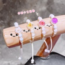 New dried flower bracelet jewelry glass ball bracelet handwoven simple starry jewelry wholesale nihaojewelry NHNA234310