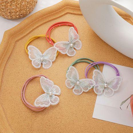 Fille perle cheveux anneau arc cheveux corde cheveux en caoutchouc coréen simple coiffure en gros nihaojewelry NHMS234331's discount tags