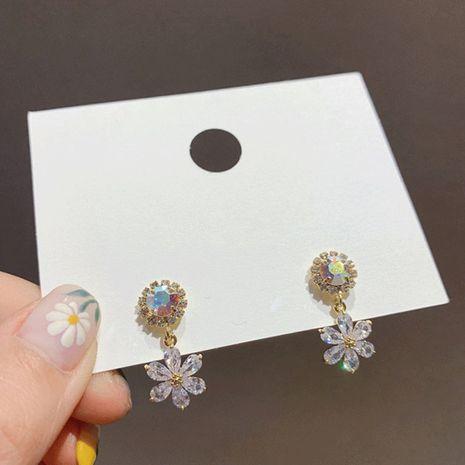 Coreano nuevo sentido mayor cara redonda arete salvaje al por mayor nihaojewelry NHXI234416's discount tags