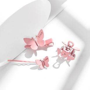 new butterfly clip headdress elegant trend fashion hairpin wholesale nihaojewelry NHPP234442's discount tags