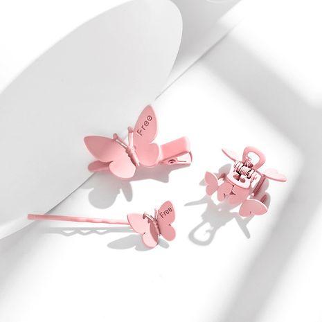 nueva mariposa clip tocado elegante tendencia moda horquilla venta al por mayor nihaojewelry NHPP234442's discount tags