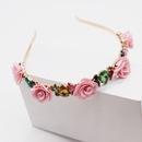 Korean fashion irregular diamond small flower hair accessories travel hair accessories wholesale nihaojewelry NHWJ234461