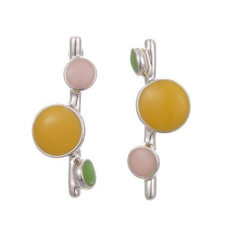 Aguja de plata coreana largos pendientes dulces lindos notas musicales creativas pendientes de goteo al por mayor nihaojewelry NHSD234502's discount tags