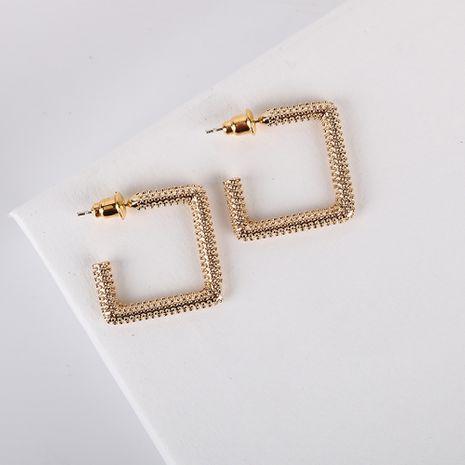 Nuevos pendientes coreanos populares S925 pendientes de aguja de plata pendientes simples al por mayor nihaojewelry NHQS234548's discount tags