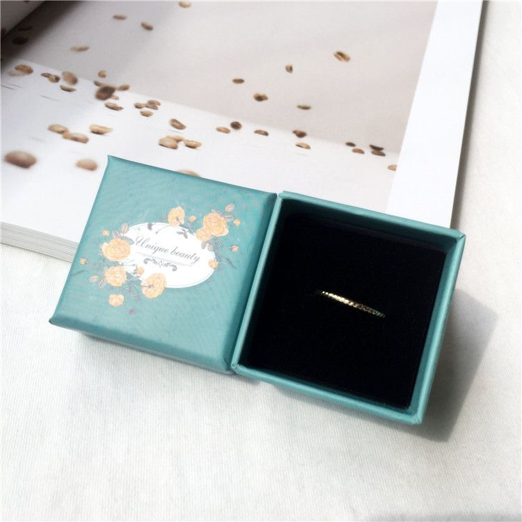 high-end gift box ring earrings pendant box gift proposal jewelry box wholesale nihaojewelry NHIM234590
