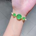 NHNA802554-23-Fruit-Green-Dried-Flower-Glass-Ball-(Series-5)