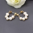 NHOM803082-Style-four-natural-pearl-earrings